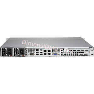 Picture of Server Supermicro SuperServer 5018R-MR (E5-1600V3)