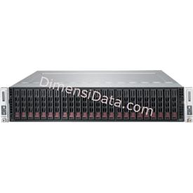 Jual Server Supermicro SuperServer 2028TP-DC1TR  (E5-2600V3)