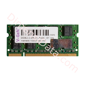 Picture of Memory Notebook V-GEN SODIMM DDR2 2GB PC-5300