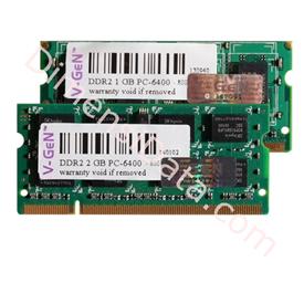 Jual Memory Notebook V-GEN SODIMM DDR2 1GB PC-6400